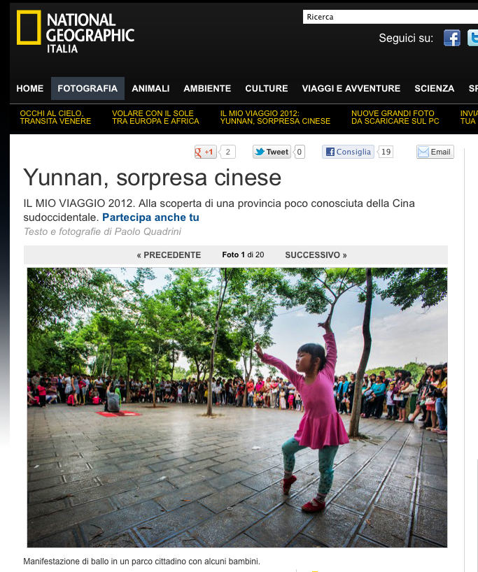 National Geographic - Yunnan, sorpresa cinese