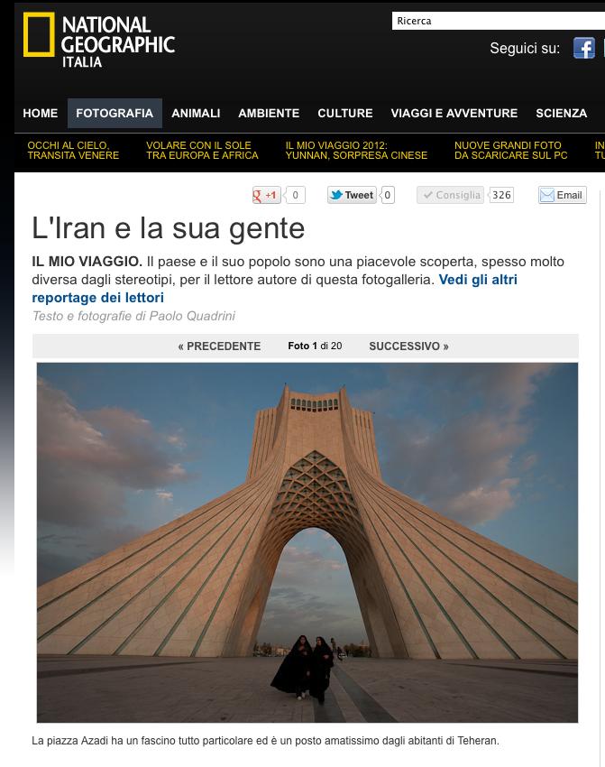 National Geographic - L'Iran e la sua gente